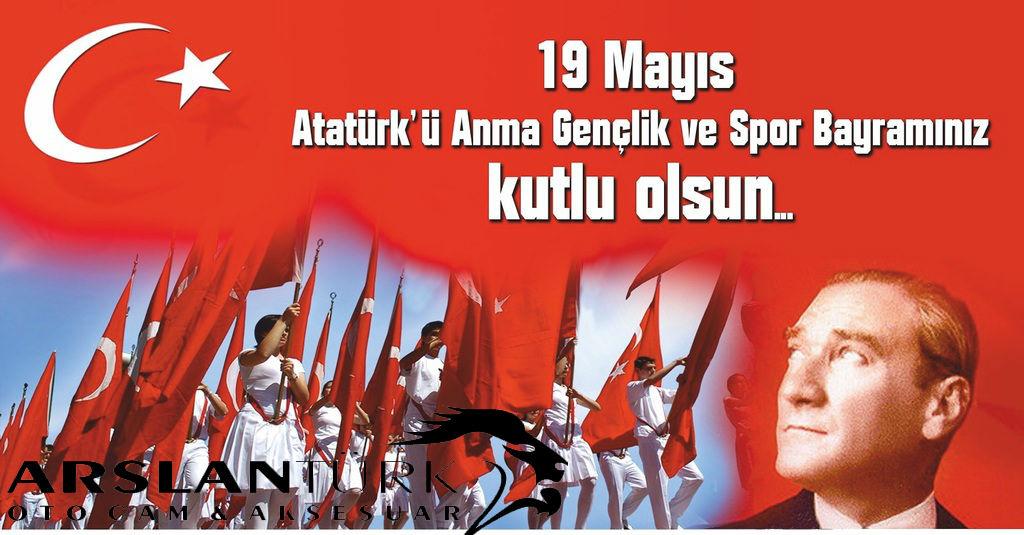 19 Mayıs Atatürk'ü Anma, Gençlik ve Spor Bayramınız kutlu olsun!